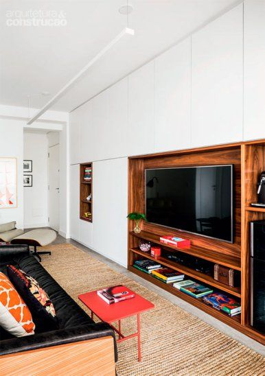 Living Room, Interior Design, Small Places, Wall Units, Tv Rooms, Ems,  Shelf, Workshop, Mid Century Part 32