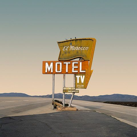 The man who produced Don McLean's American Pie was originally a photographer. Ed Freeman's desolate images of the American desert depict a world that is both peaceful and unsettling.