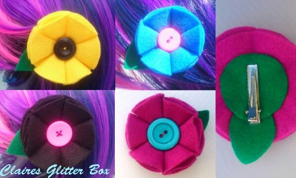 Cute Button blossoms available from my little shop on folksy  https://folksy.com/shops/ClairesGlitterBox