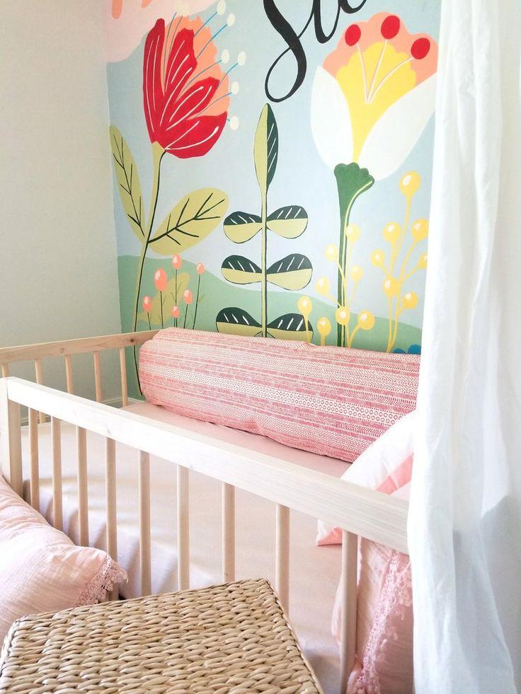 Montessori Floor Bed With Rails & slats Twin Size Cama