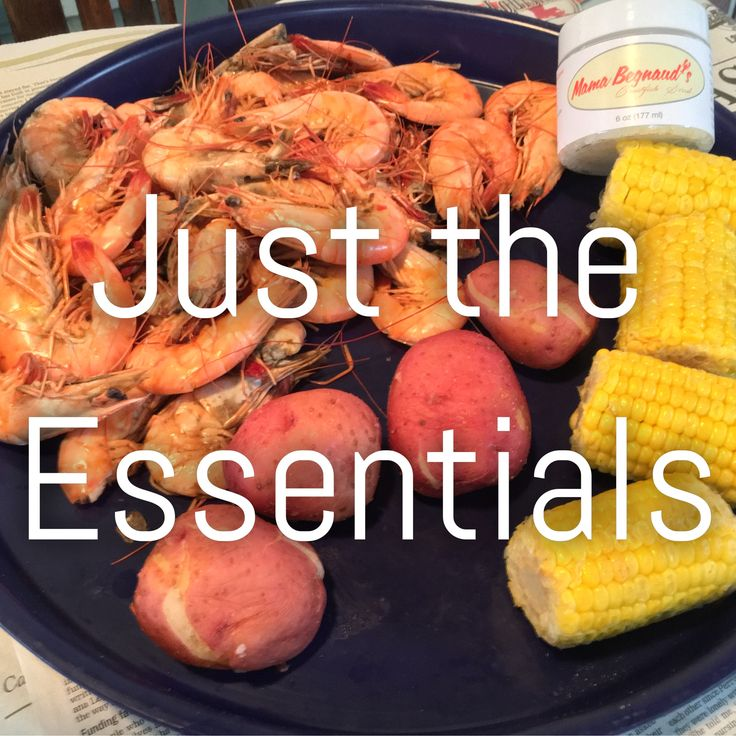 All you need for a good feast is some boiled shrimp, corn, potatoes, and Mama Begnaud's Seafood Scrub to clean up your hands. Find us in a store near you or on Amazon (Prime shipping available)