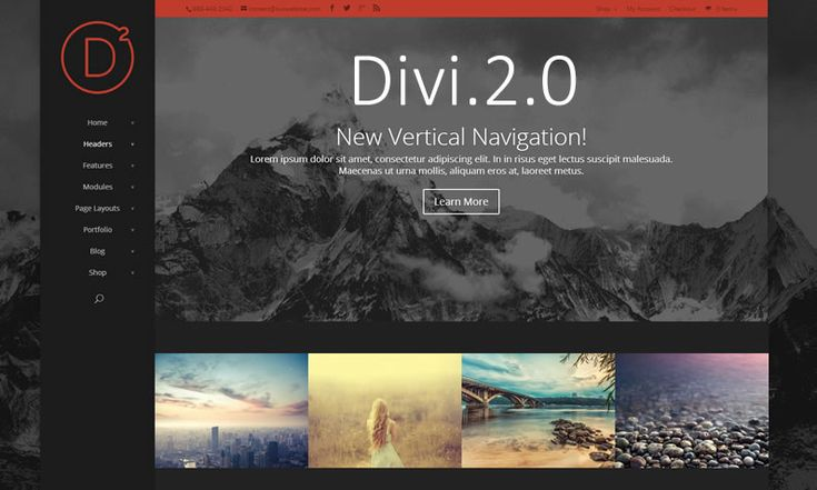 """Let me start with a confession, I've called this post """"Divi theme version 2.0: the complete review"""" but Divi 2.0 has so many new features that there's no way a single post could be """"…the complete review"""". Divi 2.0 now has three unique Section types, twenty Column structures, and thirty three Modules, so rather than try to cover everything I'm going to cherry pick and highlight my top five game changing features."""