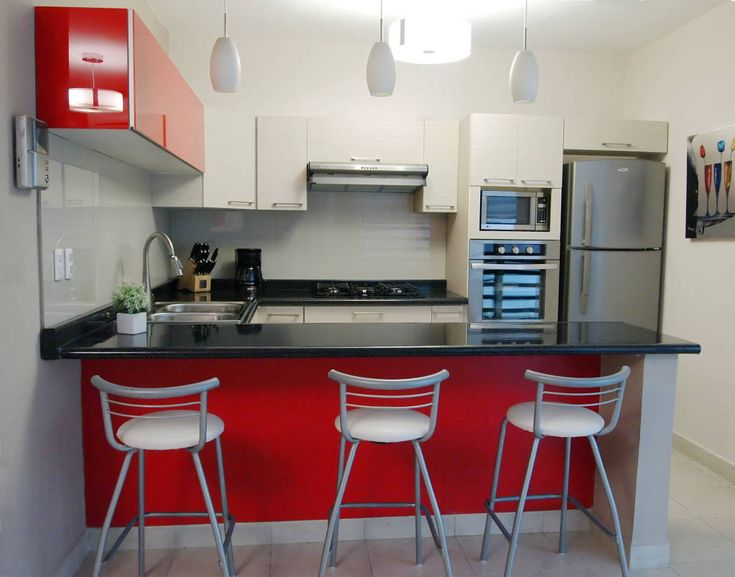 29 best COCINAS ROJAS RVV images on Pinterest Red kitchen