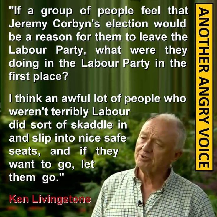 Ken Livingstone on Jeremy Corbyn