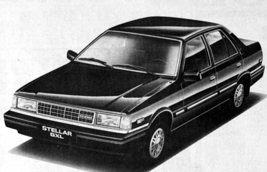 1989 Hyundai Stellar GXL