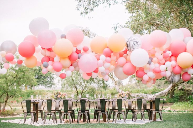 Wedding Balloon details have become a huge trend in the wedding world and we couldn't be more thrilled! There is just something so fun about balloons... they just scream PARTY TIME! From the cool and fun to some super glamorous and chic, here are 20 inspiring wedding balloon ideas for your big day.