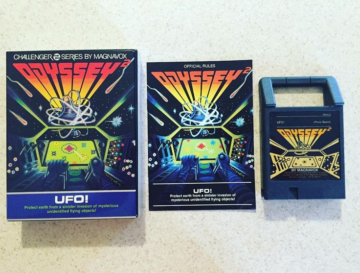 Interesting one by carolinagamingcompany #magnavoxodyssey #microhobbit (o) http://ift.tt/1TsFNyW Odyssey 2 UFO! Video Game. #carolinagamingcompany #magnavox  2 #odysseygames #odyssey #odyssey2 #retrogaming #retrocollective #gamecollection #gamecollector #retro #games #gamer #gamers #gamerunite #videogame #videogames #videogameaddict #videogaming #videogamer #classicgames #classicgaming #arcadegames #consolegaming #consolegamer #gamerguy #gamerlife #instagamer