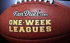 Fantasy Football leagues are open right now. One week leagues are available.