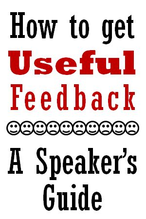 how to get best feedback