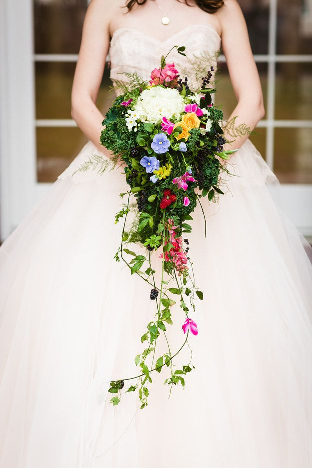 So have you ever wondered what a whimsical garden wedding would look like?