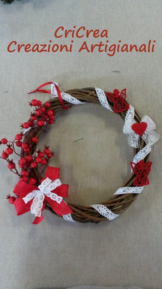Oltre 25 fantastiche idee su bacche rosse su pinterest - Ghirlanda di natale per porta ...