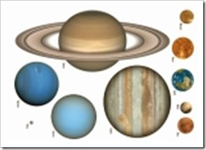 Free Solar System Printables  Don't forget, Pluto :( has been down graded...only 8 planets