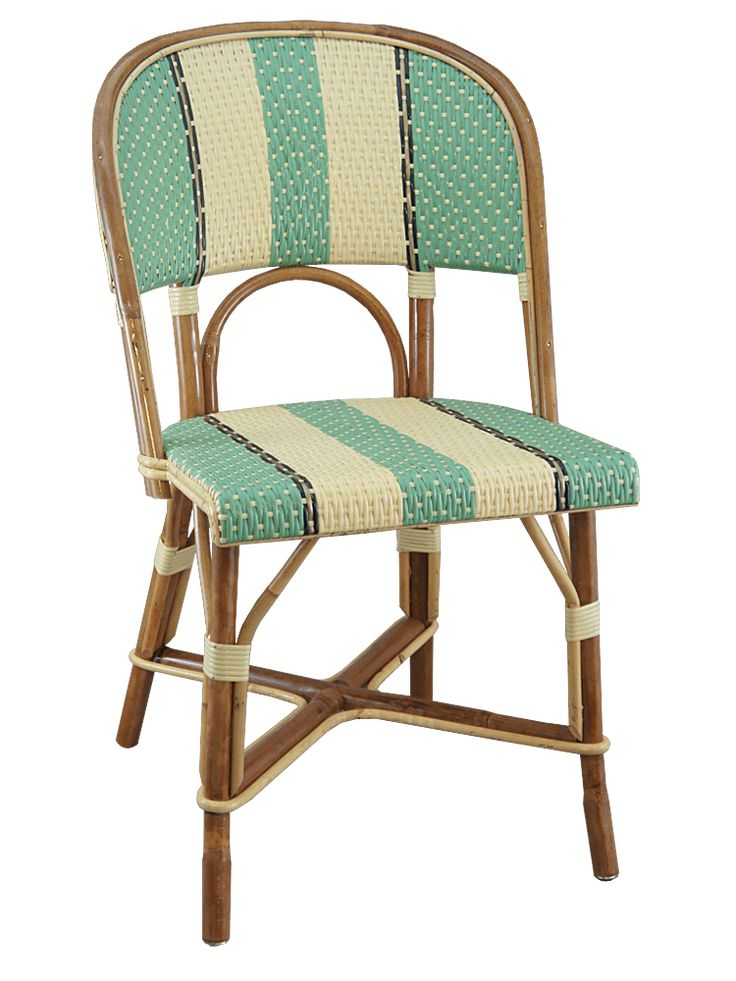chaise rotin jaune vert collections maison gatti gatti. Black Bedroom Furniture Sets. Home Design Ideas