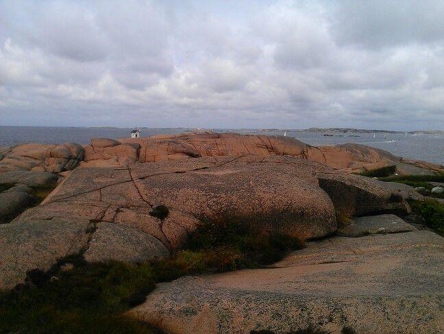 Utsikt fra toppen av Stångehuvud