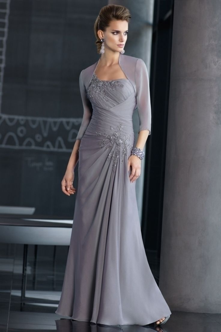 Sheath Column Floor Length Chiffon Mother Of The Bride Dresses Under 200