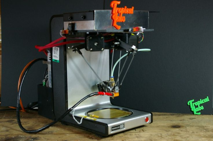 DIY 3D Printer —build on a coffee maker. Now, you can't even think of 3D printers without precision rails and linear bearings. And, to be honest, the value and quality of 3D printer depend on these precision tools. If you did not have access to all that, you can simply make one for yourself. We're being serious here! Check the link to find out more.
