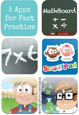 Math apps for facts practice