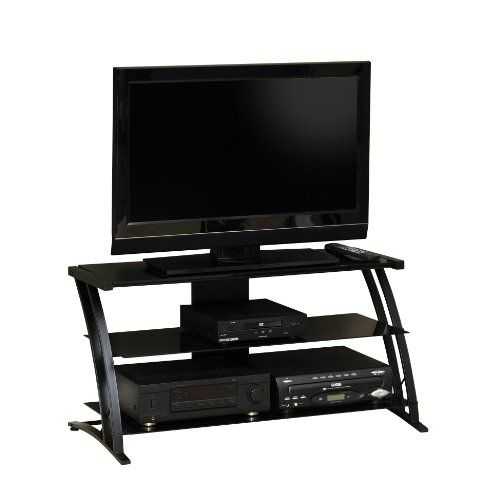 #bathroom #trendy The model 408559 #Deco Panel TV Stand was not designed to have a TV mounted to it. The stand was designed for the TV to sit on the top glass sh...