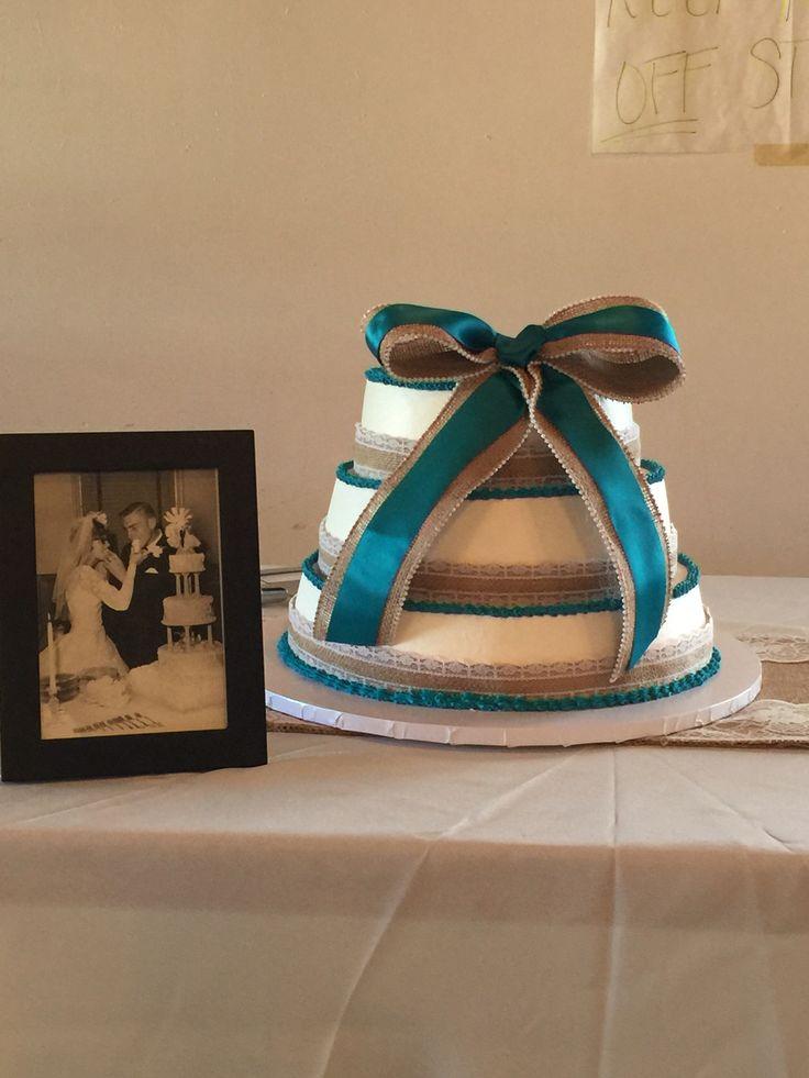 40 th  Anniversary cake