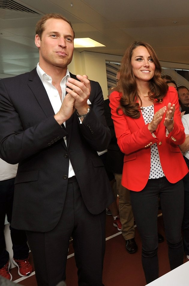 William and Kate - Olympics - Day 7 - Royals At The Olympics