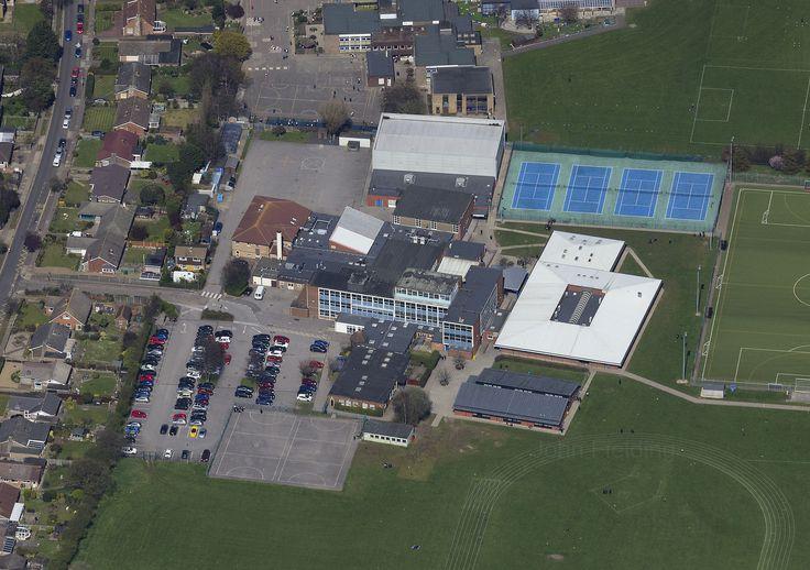 Cliff Park Ormiston Academy aerial image | by John D F