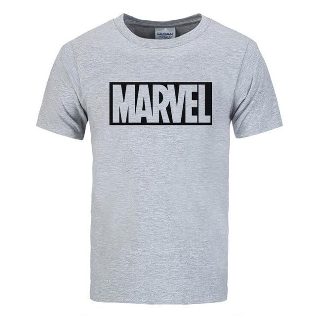 2017 New Brand Marvel t Shirt men tops tees Top quality cotton short sleeves Casual men tshirt marvel
