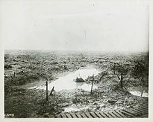 Terrain through which the Canadian Corps advanced at Passchendaele in late 1917