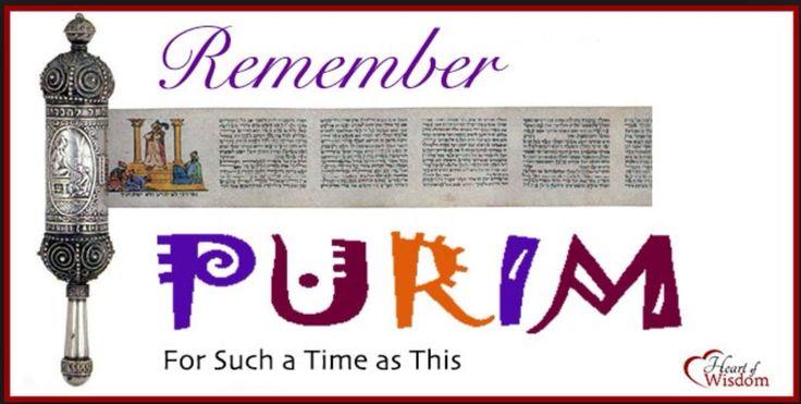 Feast of Purim 2015