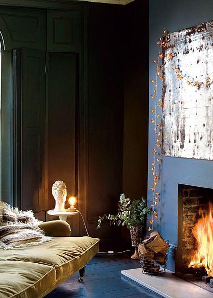 Fireplace un salon avec cheminée nos idées déco marie claire maison