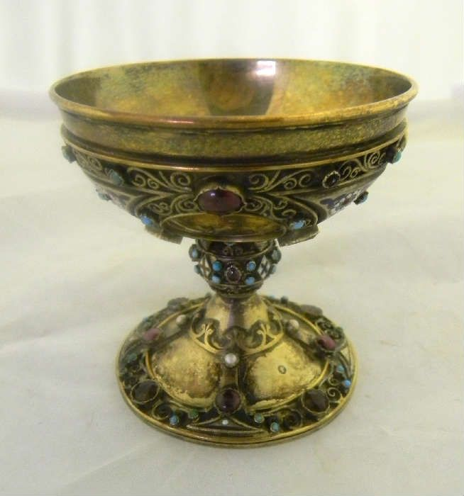 Found on EstateSales.NET: Silver Edinburgh Chalice