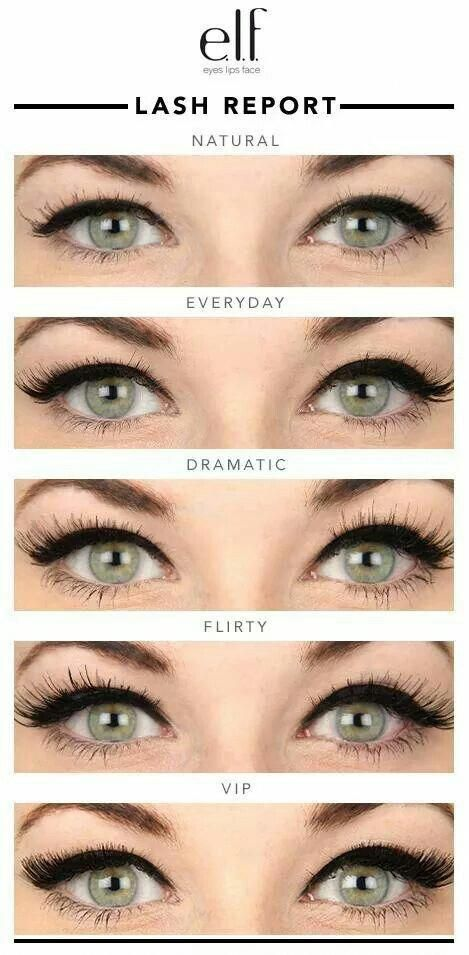4bc54ff2f9c Elf false lashes guide #differenteyemakeuplooks | Hair and Beauty ...