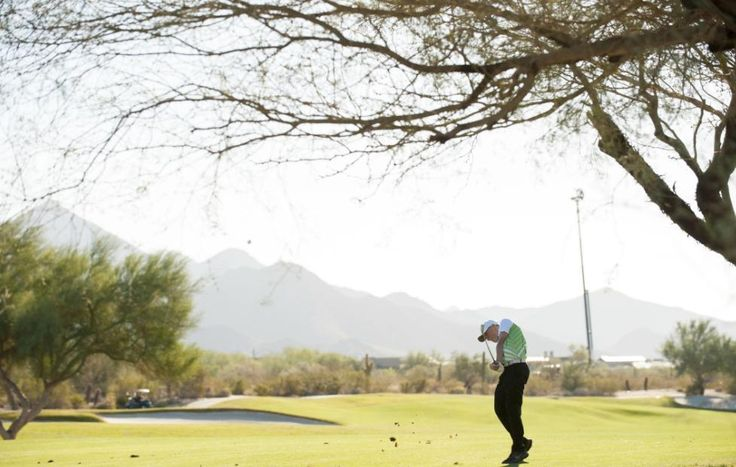A contestant of the Ohio team hits his second shot on the first hole during session one for the 2016 PGA jr. League Golf Championship presented by National Rental Car held at Grayhawk Golf Club on November 19 2016 in Scottsdale Arizona. (Photo by Traci Edwards/PGA of America) http://ift.tt/2gahrvV