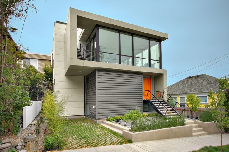 Modern House Design On Small Site Witin A Tight Budget - Crockett Residence