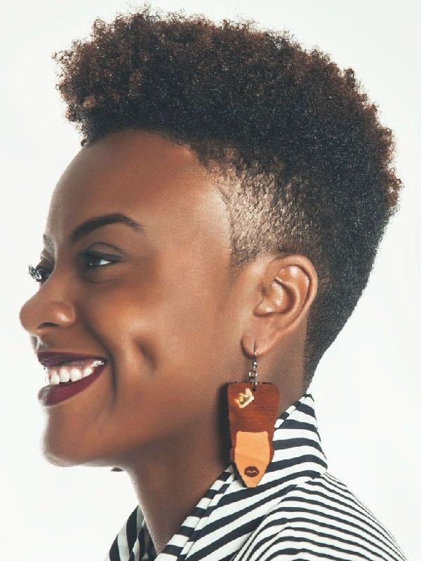 Short Natural Hairstyles For Black Women Short Natural Hair