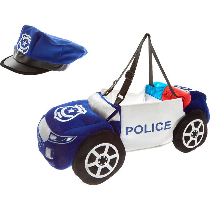 Blue Step In Police Car - Fancy Dress - Fancy Dress & Pretend Play - Toys - Kids & Toys - TK Maxx
