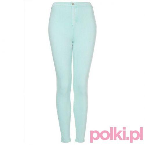 Pastelowe spodnie Topshop #polkipl