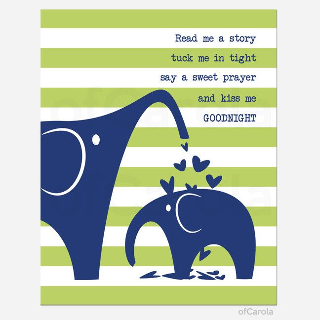 Read Me a Story Tuck Me In Tight Say a Sweet Prayer by ofCarola, $15.00