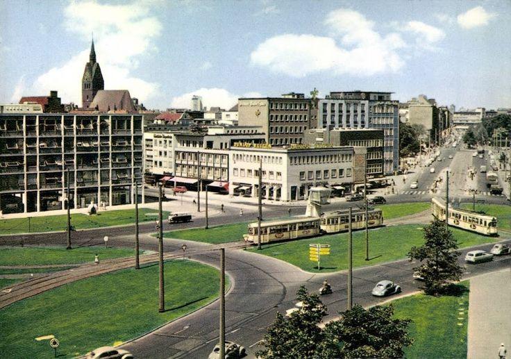 HRCfoto: Hannover Aegidientorplatz um 1960.