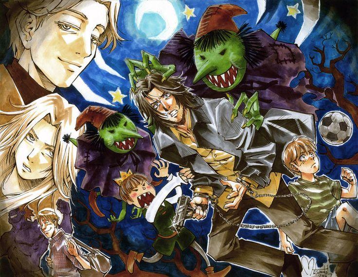 Monster poster - Naoki Urasawa - Johan - Nina - Tenma - Dieter - Grimmer