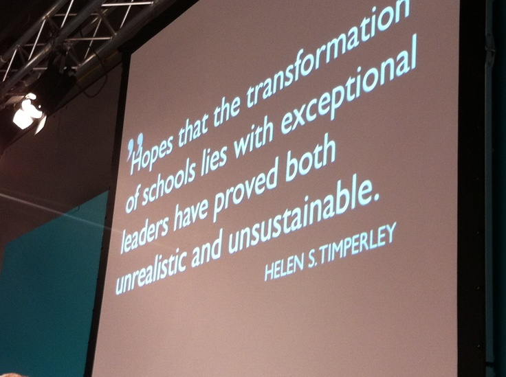 Transformation of schools