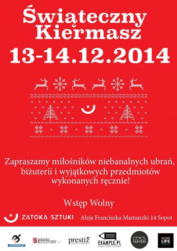 To już jutro! Z przyjemnością informujemy, że objęliśmy patronat nad tegoroczną edycją Kiermaszu Świątecznego.  Link do wydarzenia: https://www.facebook.com/events/1504947383089664/