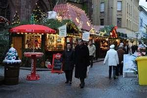Kaiserslautern, Germany Christmas Market.