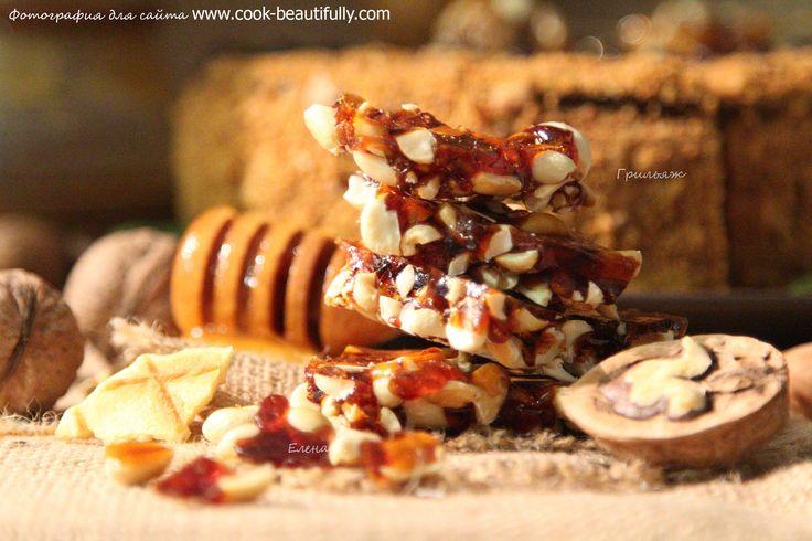 Грильяж с арахисом