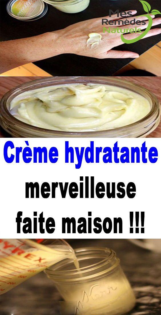 creme hydratante maison
