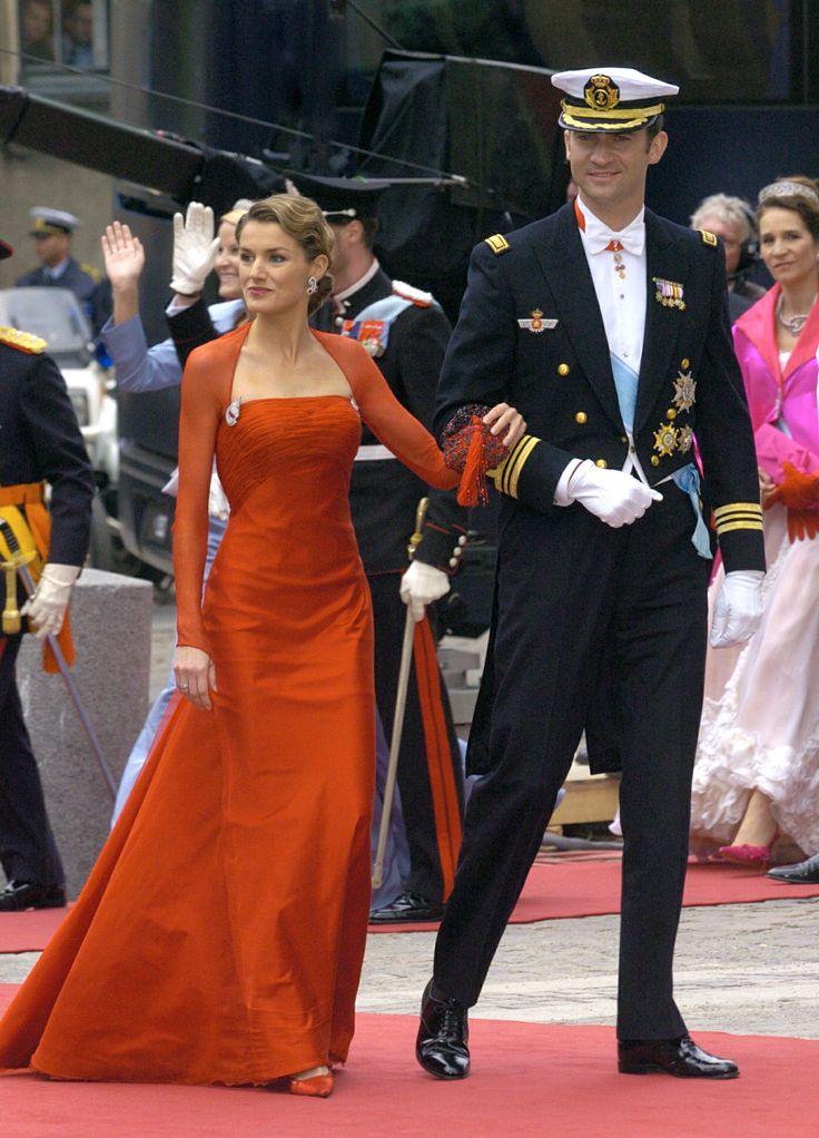 A Royal Success: Queen Letizia of Spain's Style - Princess Letizia 2004