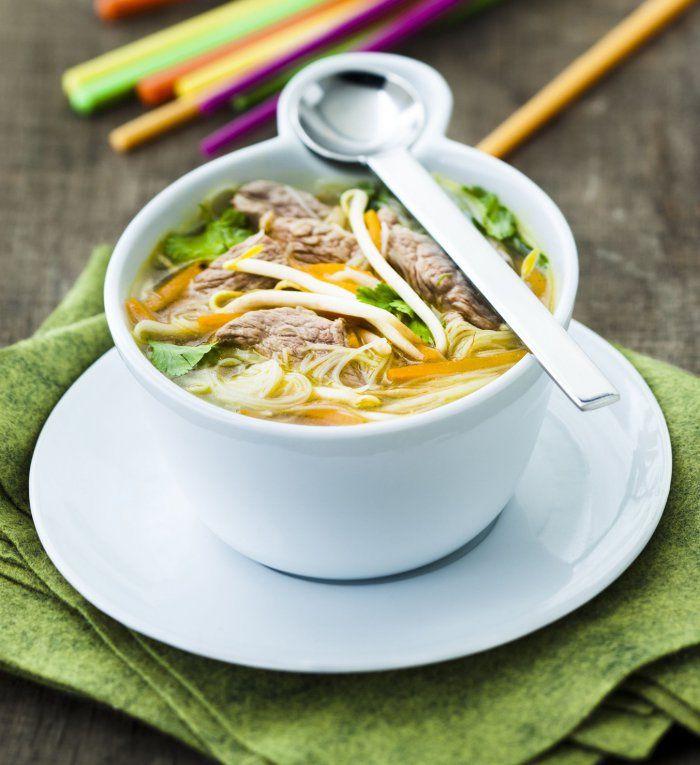 Recette minceur de la semaine: soupe chinoise à l'agneau