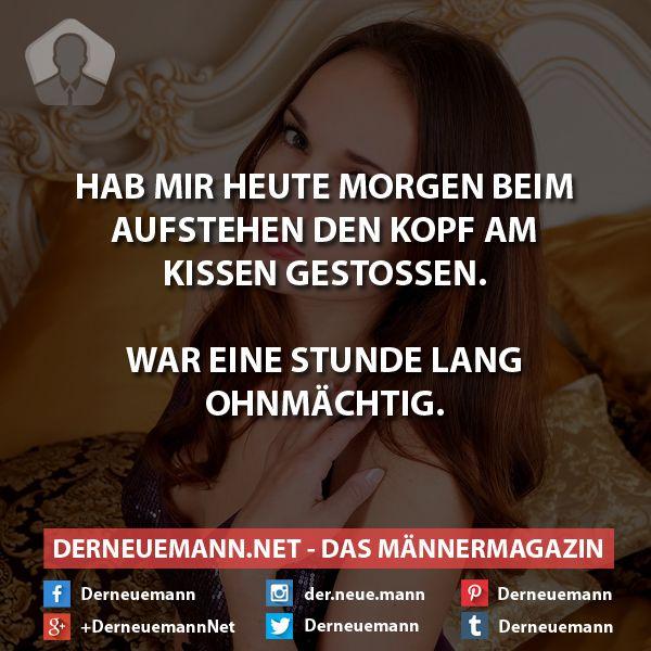 Kopf gestoßen #derneuemann #humor #lustig #spaß #sprüche