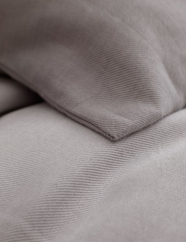 Relaxed Denim, Dove Grey Bedding Set in 100% cotton from Secret Linen Store