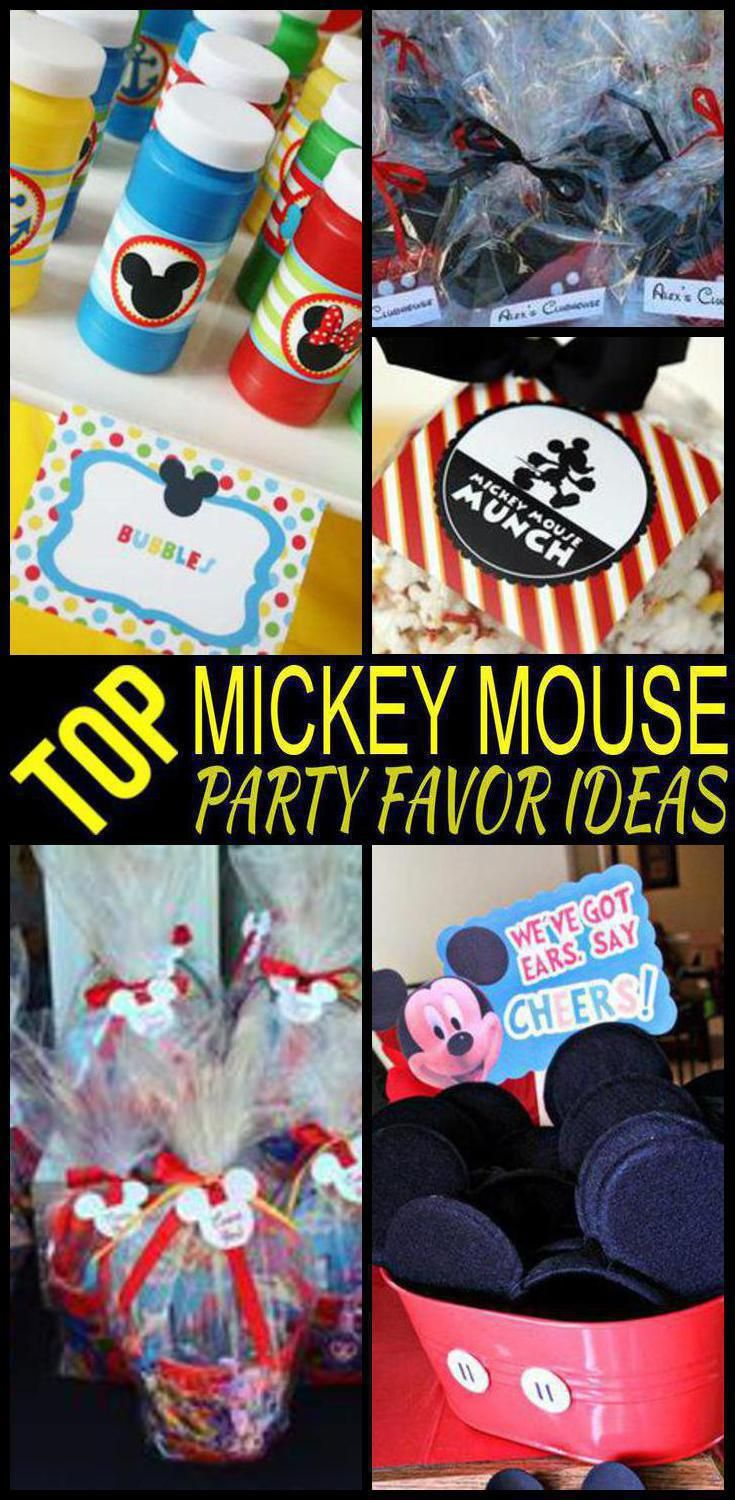 Mickey Mouse Party Favors For Toddlers Cheap Online
