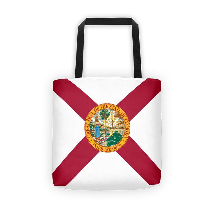 Florida Flag - All-Over Tote Bag